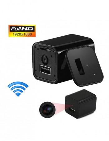 Incarcator De Priza Cu Camera Spion HD Wireless